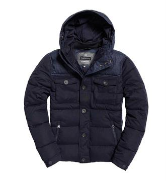 Superdry Winterjassen M50019yp Navy