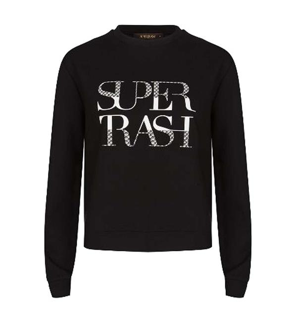 supertrash-fleece-truien-cw17m178-topper-zwart