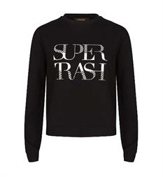 Supertrash Sweaters Cw17m178 topper Zwart