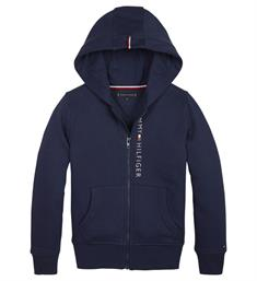 Tommy Hilfiger Sweatvesten Kb0kb04948 essential full Navy