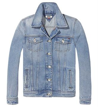 Tommy Jeans Denim jackets Dw0dw04364 Blue denim