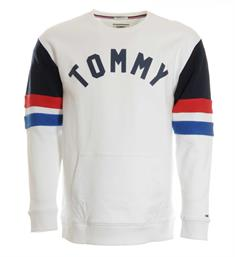 Tommy Jeans Fleece truien Dm0dm04069 Wit
