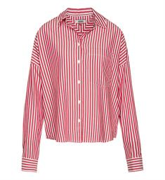Tommy Jeans Lange mouw blouses Dw0dw06488 Rood