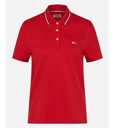 Tommy Jeans Polo's Dw0dw04512 Rood
