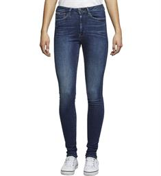 Tommy Jeans Skinny jeans Dw0dw07048 high rise Blauw
