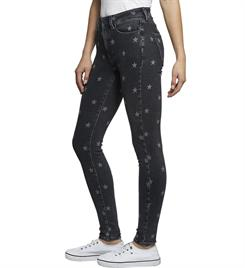 Tommy Jeans Spijkerbroeken Dw0dw06601 high rise Black denim