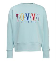 Tommy Jeans Sweatshirts Dw0dw06128 Turquoise