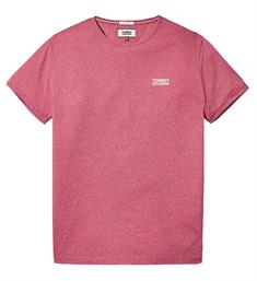 Tommy Jeans T-shirts Dm0dm04559 Rood melee