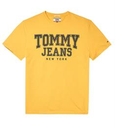 Tommy Jeans T-shirts Dm0dm05113 Geel