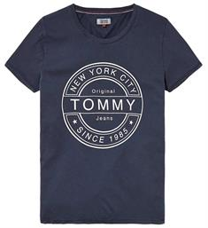 Tommy Jeans T-shirts Dw0dw03923 Navy