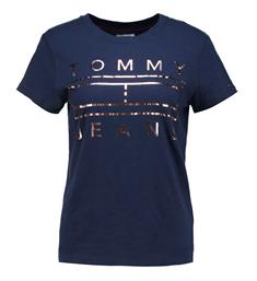 Tommy Jeans T-shirts Dw0dw04074 Navy