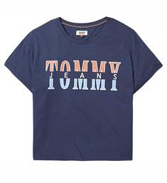 Tommy Jeans T-shirts Dw0dw04663 Navy