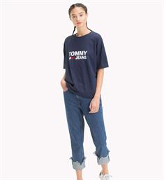 Tommy Jeans T-shirts Dw0dw04928 Navy