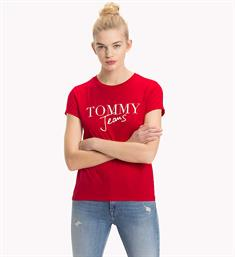 Tommy Jeans T-shirts Dw0dw05265 Rood