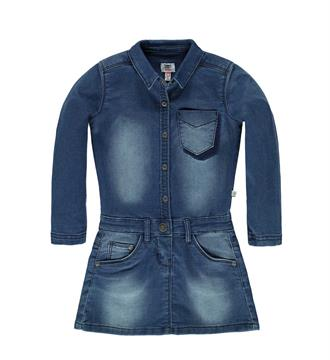Tumble 'n Dry Denim jurken Flair Blue denim