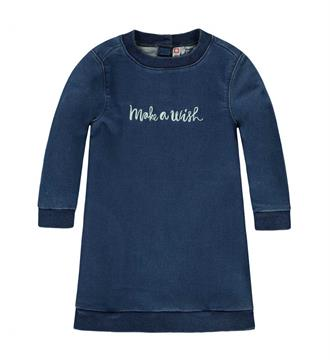 Tumble 'n Dry Denim jurken Gente Blue denim