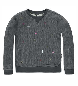 Tumble 'n Dry Fleece truien Farraha Antraciet