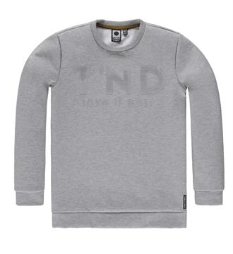 Tumble 'n Dry junior Fleece truien Alaric Grijs melee