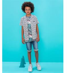 Tumble 'n Dry junior Korte broeken Leoh Medium blue denim