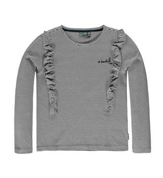Tumble 'n Dry junior T-shirts Ebbylee Grijs dessin