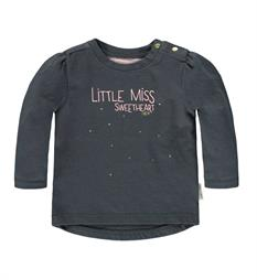 Tumble 'n Dry newborn T-shirts Han Antraciet