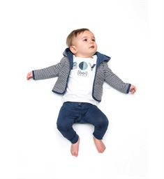 Tumble 'n Dry newborn T-shirts Seppe Off white