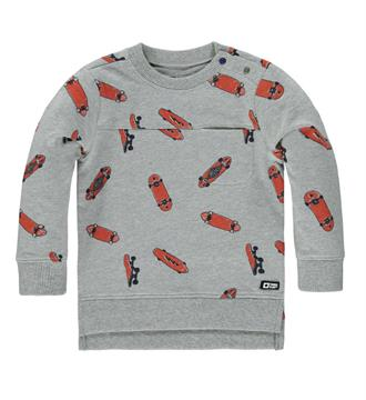 Tumble 'n Dry Sweaters Cullin Grijs melee dessin