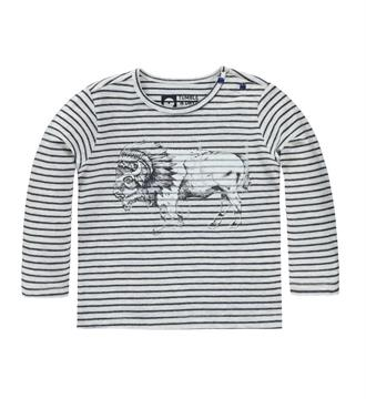 Tumble 'n Dry T-shirts Cadence Grijs dessin