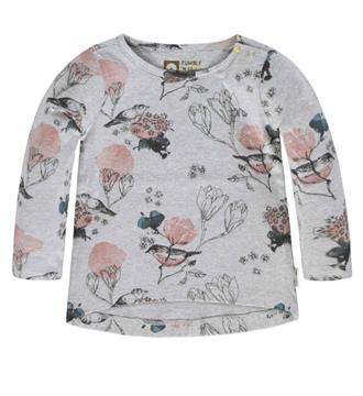 Tumble 'n Dry T-shirts Gitty Grijs melee dessin