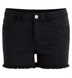 Vila Korte broeken 14046854 virust Black denim