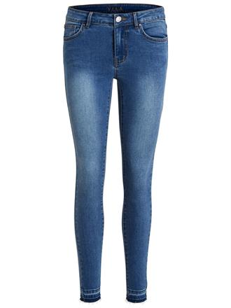 Vila Skinny jeans 14038993 vicomm Blue denim