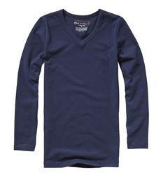 Vingino T-shirts Boys LS V-Neck Navy