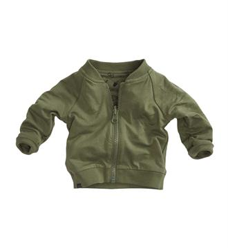 Z8 newborn Fleece vesten Kwibus Army