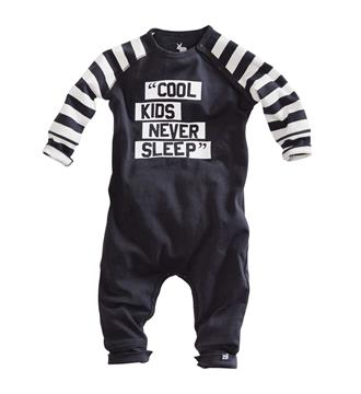 Z8 newborn Jumpsuits Blacky Antraciet