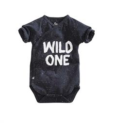 Z8 newborn One pieces Otje Antraciet