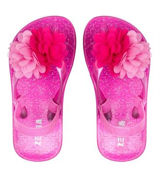 Zebra Slippers 899012 mini gir Pink