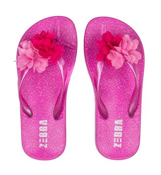Zebra Slippers 899014 girls Pink