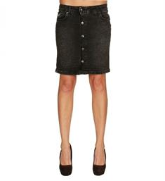 Zhrill Korte rokken W9213 coleen Black denim