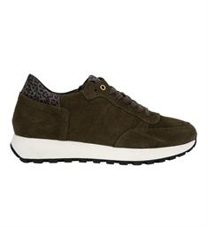 Zusss Sneakers Hippe runner Army